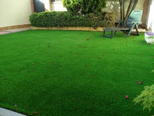Jardin cesped artificial ibiza